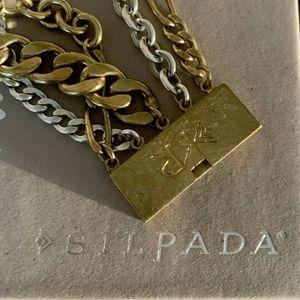 Silpada Jewelry - Silpada Bracelet Brass and Silver
